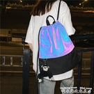 健身包束口袋抽繩後背包男休閒旅行背包戶外運動健身包籃球袋球袋女 迷你屋 618狂歡