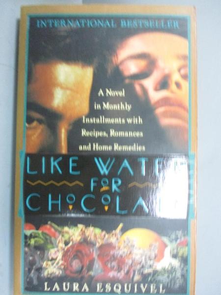【書寶二手書T5/原文小說_FSY】Like Water for Chocolate_Laura Esquivel