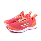 adidas RapidaRun X J 慢跑鞋 運動鞋 粉橘色 大童 童鞋 G27422 no744