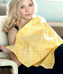 iae創百市集 美國Mothers Lounge Udder Cover 美型哺乳巾/哺乳遮罩-溫暖鵝黃