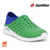 【LOTTO】男女款  世足特別款 潮流洞洞鞋-綠(L6755)  全方位跑步概念館