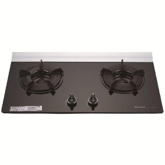 【歐雅系統家具廚具】林內 Rinnai RB-201GN 檯面式內焰二口瓦斯爐(已停產)