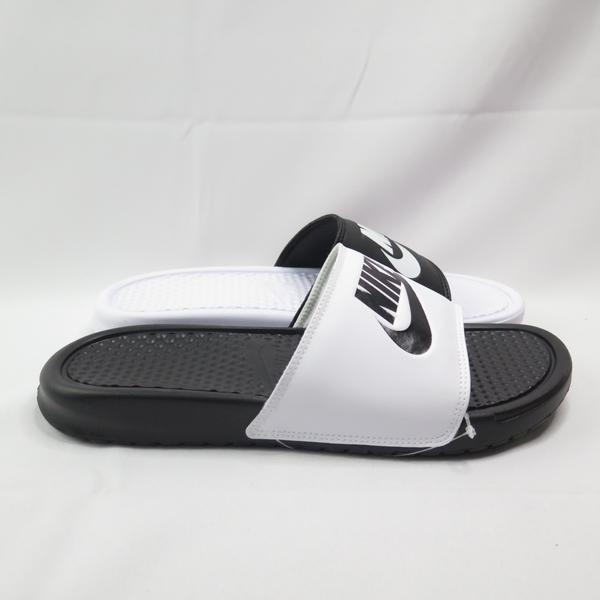 NIKE BENASSI JDI MISMATCH 男女款 拖鞋 818736011 陰陽配色【iSport愛運動】
