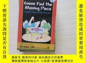 二手書博民逛書店geese罕見find the missing piece 【6