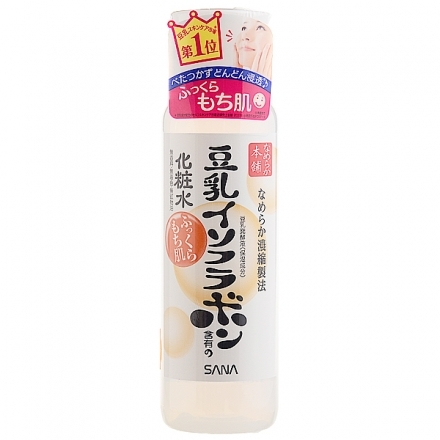 極品世界 SANA 豆乳美肌化粧水 200ml (NG包裝)