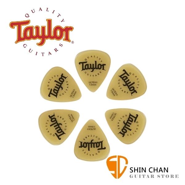 Taylor Ultex Pick 進口原廠彈片 6片裝/一包【厚度:1.0mm/1.14mm】80795 80796