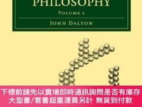 二手書博民逛書店A罕見New System Of Chemical PhilosophyY255174 John Dalton