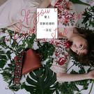 浪漫卻強烈的花草刺繡寬背帶,時髦魅力滿格!