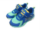 『雙惠鞋櫃』★ FILA ★藍 康特杯 網布透氣 另有粉、綠色可選 慢跑運動休閒鞋 ★ (3-J801R-369) 藍綠