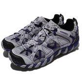 Merrell 戶外鞋 Waterpro Maipo 灰 紫 越野 運動鞋 休閒鞋 女鞋【PUMP306】 ML03080