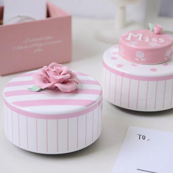 蛋糕心語音樂盒八音盒創意生日禮物女生閨蜜送兒童小朋友畢業禮品【時尚家居館】