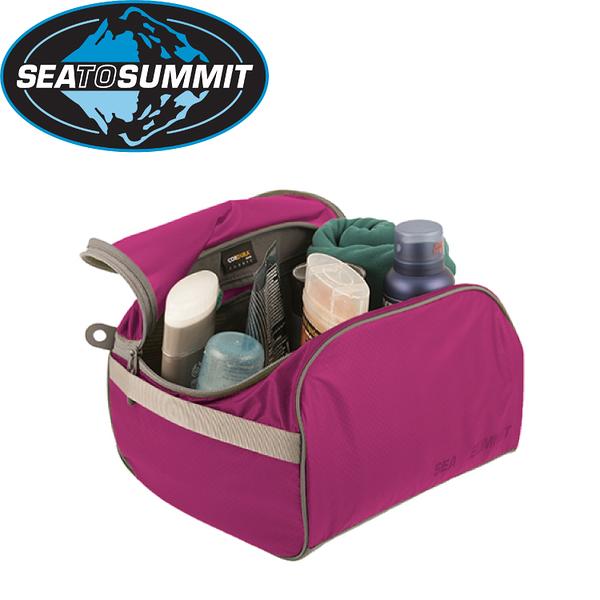 【Sea to Summit 澳洲 旅行用盥洗包《桃紅/淺灰》】STSATLTC/打包袋/打理包/收納包