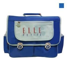 Backbager 背包族【ELLE Petite】輕量幸運草系列 書包/後背書包/背包/橫式書包 藍色