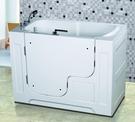 【麗室衛浴】 孝親缸 / 步入式浴缸 適合家中長輩及行動不便人士 LS-T115A 1320*750*H1040mm