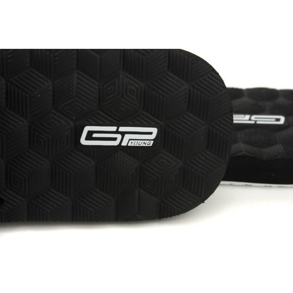 GP (Gold.Pigon) 阿亮代言 拖鞋 黑/白 男鞋 Y9009M-81 no068