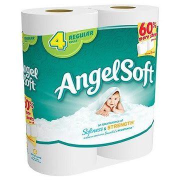 美國進口Angel Soft捲筒衛生紙(4捲/包)
