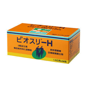 元氣健康館  百賜益BIO-THREE共生三益菌(1.5gm*36包)