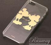 ~R ~超搶手超薄卡通米奇透明殼iPhone5 5s 手機套燙金手機殼保護套保護殼硬殼
