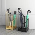 北歐鐵藝雨傘架酒店門口雨傘桶放傘架家用電梯口立傘筒收納置物架