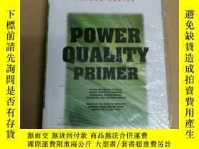 二手書博民逛書店Power罕見quality primer(塑封)電能質量底漆Y