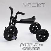 新款黑色兒童三輪車腳踏車2-3-5歲寶寶自行車輕便小孩玩具車童車