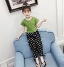 衣童趣↘韓版中大女童 格紋 條紋 薄款 夏日防曬防蚊長褲