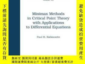 二手書博民逛書店Minimax罕見Methods In Critical Point Theory With Applicatio