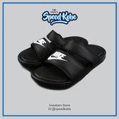 Nike 拖鞋 W Benassi Duo Ultra 黑色 雙帶 819717-010【Speedkobe】