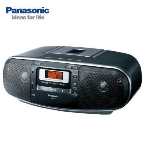 【音響達人商城】 Panasonic 手提USB/CD收錄音機(RX-D55) ~送音樂CD (可刷卡/公司貨/免運費)