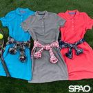 SPAO女款休閒POLO修身洋裝-共3色