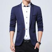 西裝外套秋季新款商務英倫韓版修身上衣青年外套單西休閒小西服男·皇者榮耀3C旗艦店