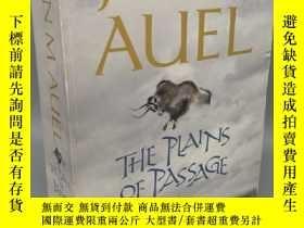 二手書博民逛書店【英文原版】The罕見Plains of Passage(橫越冰原)Y323996 Jean M.Auel H