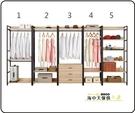 {{ 海中天休閒傢俱廣場 }} G-23 摩登時尚 衣櫥系列 097-4 艾麗斯2尺單吊衣櫥(圖4)