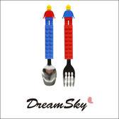 韓國 OXFORD 樂高 積木 餐具組 湯匙 叉子  Dreamsky
