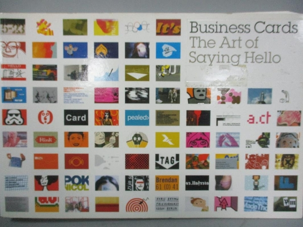 【書寶二手書T5/廣告_ZES】Business cards : the art of saying hello_Dor