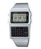 【台南 時代鐘錶 CASIO】卡西歐 台灣公司貨 DBC-611-1 DATABANK系列計算機多功能電子錶