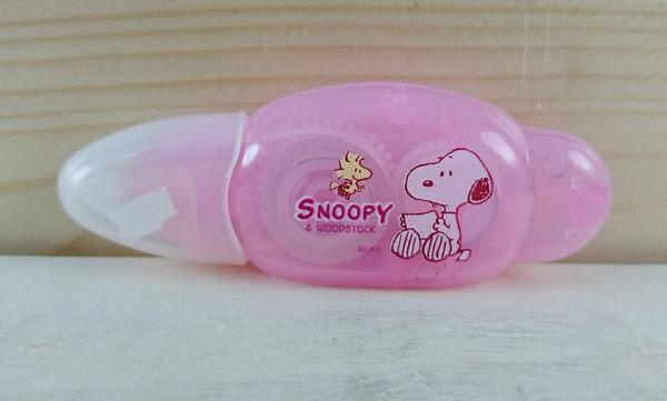 【震撼精品百貨】史奴比Peanuts Snoopy ~修正帶 粉紅色
