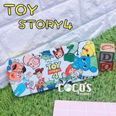 日本正版 迪士尼 玩具總動員4 鐵筆盒 鐵鉛筆盒 鐵盒 收納盒 A款 COCOS TP140