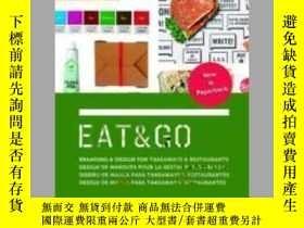 二手書博民逛書店Eat罕見and Go: Branding and Design Identity for Takeaways a