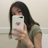 可愛小豬x蘋果6手機殼iPhone7plus/8/6s創意個性情侶7p女款硅膠軟
