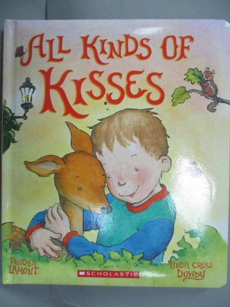 【書寶二手書T4/少年童書_ZEK】All Kinds of Kisses_Dowdy, Linda Cress/ La