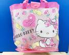 【震撼精品百貨】Hello Kitty_凱蒂貓~Sanrio HELLO KITTY防水手提包/透明防水包-水果桃#26751