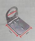 不鏽鋼無壓龍頭專用白鐵吊片(孔徑31mm),適用牙徑31mm以下無壓鵝頸,160元