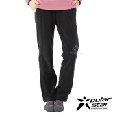【PolarStar】女 刷毛保暖長褲『黑』P20424 戶外│休閒│登山│露營│刷毛│冬季│禦寒│保暖