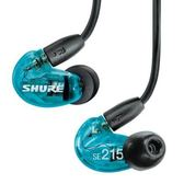 SHURE SE215SPE-A 藍色特別版 入耳式耳機 公司貨保固 SE215 [My Ear 台中耳機專賣店]