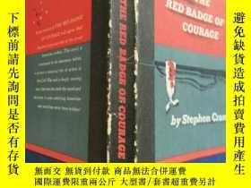 二手書博民逛書店the罕見red badge of courage【實物拍圖 扉