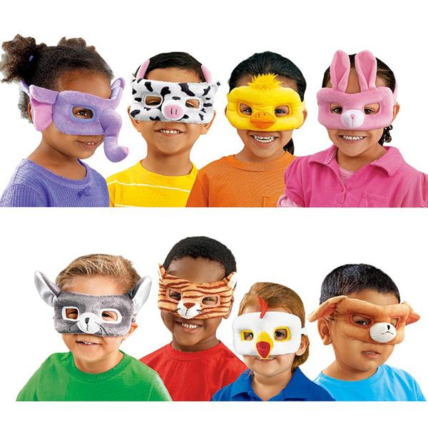 【華森葳兒童教玩具】扮演角系列-動物面具 N8-DS224