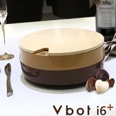 【送擦地組】Vbot 二代蛋糕機 i6+ 掃地機 掃地機器人 加強版 (巧克力)