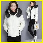 短款棉衣女2019冬季新款韓版寬鬆百搭加厚小棉襖女裝羽絨棉服外套