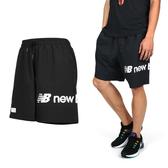 NEW BALANCE 男運動短褲(慢跑 路跑 平織 NB 免運 ≡排汗專家≡